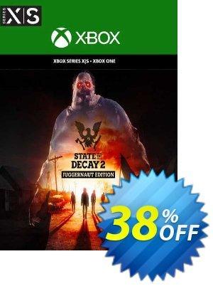 State of Decay 2: Juggernaut Edition Xbox One (EU) discount coupon State of Decay 2: Juggernaut Edition Xbox One (EU) Deal 2021 CDkeys - State of Decay 2: Juggernaut Edition Xbox One (EU) Exclusive Sale offer for iVoicesoft