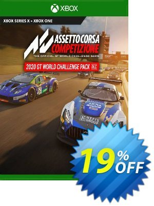 Assetto Corsa Competizione - 2020 GT World Challenge Pack Xbox One (UK) discount coupon Assetto Corsa Competizione - 2020 GT World Challenge Pack Xbox One (UK) Deal 2021 CDkeys - Assetto Corsa Competizione - 2020 GT World Challenge Pack Xbox One (UK) Exclusive Sale offer for iVoicesoft