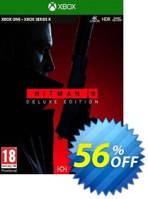 HITMAN 3 Deluxe Edition Xbox One/Xbox Series X|S Coupon discount HITMAN 3 Deluxe Edition Xbox One/Xbox Series X|S Deal 2021 CDkeys