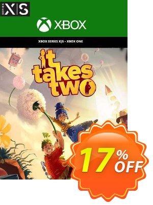It Takes Two Xbox One/ Xbox Series X|S (UK) Coupon discount It Takes Two Xbox One/ Xbox Series X|S (UK) Deal 2021 CDkeys
