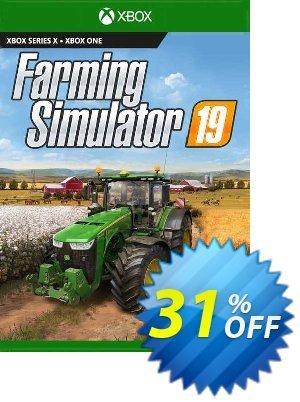 Farming Simulator 19 Xbox One (EU) discount coupon Farming Simulator 19 Xbox One (EU) Deal 2021 CDkeys - Farming Simulator 19 Xbox One (EU) Exclusive Sale offer for iVoicesoft