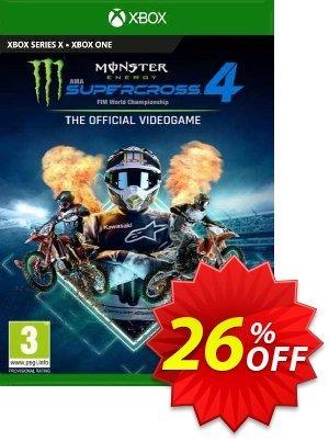 Monster Energy Supercross 4 Xbox One (UK) Coupon discount Monster Energy Supercross 4 Xbox One (UK) Deal 2021 CDkeys
