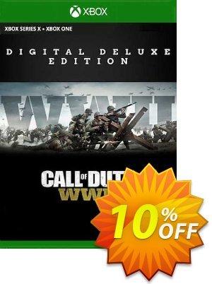 Call of Duty: WWII - Digital Deluxe Xbox One (EU) Coupon discount Call of Duty: WWII - Digital Deluxe Xbox One (EU) Deal 2021 CDkeys