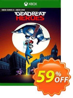 Deadbeat Heroes Xbox One 優惠券,折扣碼 Deadbeat Heroes Xbox One Deal 2021 CDkeys,促銷代碼: Deadbeat Heroes Xbox One Exclusive Sale offer for iVoicesoft