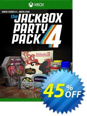 The Jackbox Party Pack 4 Xbox One (UK) discount coupon The Jackbox Party Pack 4 Xbox One (UK) Deal 2021 CDkeys - The Jackbox Party Pack 4 Xbox One (UK) Exclusive Sale offer for iVoicesoft
