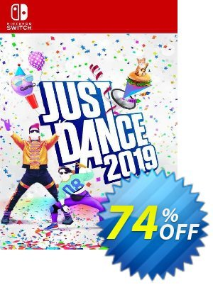 Just Dance 2019 Switch (EU) discount coupon Just Dance 2019 Switch (EU) Deal 2021 CDkeys - Just Dance 2019 Switch (EU) Exclusive Sale offer for iVoicesoft
