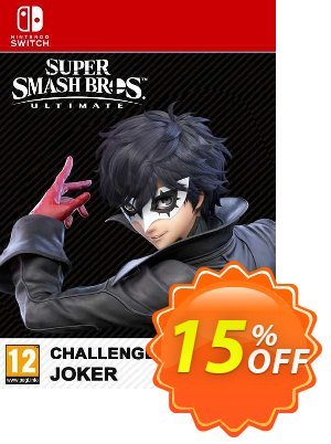 Super Smash Bros. Ultimate Joker Challenger Pack Switch (EU) discount coupon Super Smash Bros. Ultimate Joker Challenger Pack Switch (EU) Deal 2021 CDkeys - Super Smash Bros. Ultimate Joker Challenger Pack Switch (EU) Exclusive Sale offer for iVoicesoft