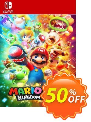 Mario and Rabbids Kingdom Battle Switch (EU) 優惠券,折扣碼 Mario and Rabbids Kingdom Battle Switch (EU) Deal 2021 CDkeys,促銷代碼: Mario and Rabbids Kingdom Battle Switch (EU) Exclusive Sale offer for iVoicesoft