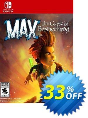 Max: The Curse of Brotherhood Switch (EU) Coupon discount Max: The Curse of Brotherhood Switch (EU) Deal 2021 CDkeys