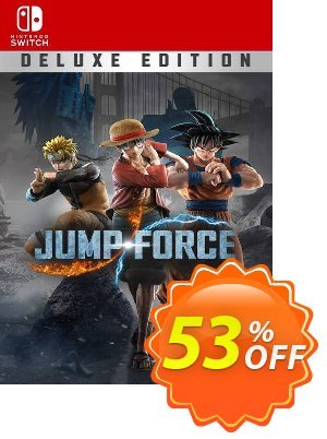Jump Force Deluxe Edition Switch (EU) Coupon discount Jump Force Deluxe Edition Switch (EU) Deal 2021 CDkeys