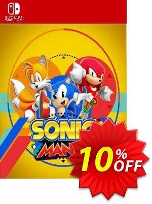 Sonic Mania Switch (EU) 優惠券,折扣碼 Sonic Mania Switch (EU) Deal 2021 CDkeys,促銷代碼: Sonic Mania Switch (EU) Exclusive Sale offer for iVoicesoft