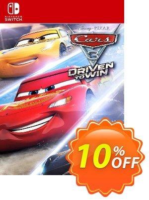 Cars 3: Driven to Win Switch (EU) Coupon discount Cars 3: Driven to Win Switch (EU) Deal 2021 CDkeys