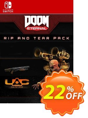 DOOM Eternal: Rip and Tear Pack Switch (EU) discount coupon DOOM Eternal: Rip and Tear Pack Switch (EU) Deal 2021 CDkeys - DOOM Eternal: Rip and Tear Pack Switch (EU) Exclusive Sale offer for iVoicesoft