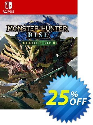 Monster Hunter Rise: Deluxe Kit Switch (EU) discount coupon Monster Hunter Rise: Deluxe Kit Switch (EU) Deal 2021 CDkeys - Monster Hunter Rise: Deluxe Kit Switch (EU) Exclusive Sale offer for iVoicesoft
