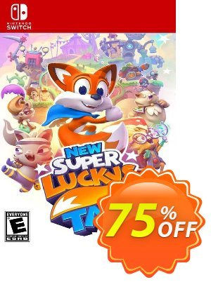 New Super Lucky's Tale Switch (EU) discount coupon New Super Lucky's Tale Switch (EU) Deal 2021 CDkeys - New Super Lucky's Tale Switch (EU) Exclusive Sale offer for iVoicesoft