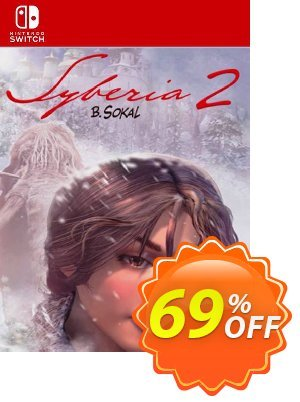 Syberia 2 Switch (EU) 優惠券,折扣碼 Syberia 2 Switch (EU) Deal 2021 CDkeys,促銷代碼: Syberia 2 Switch (EU) Exclusive Sale offer for iVoicesoft