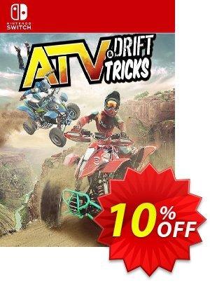 ATV: Drift & Tricks Switch (EU) 優惠券,折扣碼 ATV: Drift & Tricks Switch (EU) Deal 2021 CDkeys,促銷代碼: ATV: Drift & Tricks Switch (EU) Exclusive Sale offer for iVoicesoft