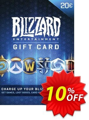 Battlenet 20 euro Gift Card discount coupon Battlenet 20 euro Gift Card Deal 2021 CDkeys - Battlenet 20 euro Gift Card Exclusive Sale offer for iVoicesoft