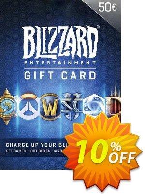 Battlenet 50 euro Gift Card Coupon discount Battlenet 50 euro Gift Card Deal 2021 CDkeys