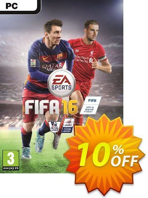 FIFA 16 PC + 15 FUT GOLD PACKS discount coupon FIFA 16 PC + 15 FUT GOLD PACKS Deal - FIFA 16 PC + 15 FUT GOLD PACKS Exclusive offer for iVoicesoft