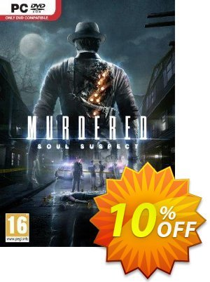 Murdered: Soul Suspect PC 優惠券,折扣碼 Murdered: Soul Suspect PC Deal,促銷代碼: Murdered: Soul Suspect PC Exclusive offer for iVoicesoft