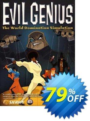 Evil Genius PC Coupon discount Evil Genius PC Deal