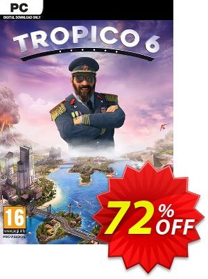 Tropico 6 PC discount coupon Tropico 6 PC Deal - Tropico 6 PC Exclusive offer for iVoicesoft