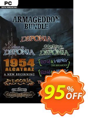 The Daedalic Armageddon Bundle PC 프로모션 코드 The Daedalic Armageddon Bundle PC Deal 프로모션: The Daedalic Armageddon Bundle PC Exclusive offer for iVoicesoft