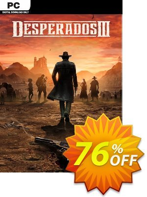 Desperados 3 PC discount coupon Desperados 3 PC Deal - Desperados 3 PC Exclusive offer for iVoicesoft