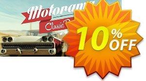 Motorama PC 프로모션 코드 Motorama PC Deal 프로모션: Motorama PC Exclusive offer for iVoicesoft