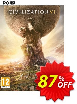 Sid Meier's Civilization VI 6 PC Coupon, discount Sid Meier's Civilization VI 6 PC Deal. Promotion: Sid Meier's Civilization VI 6 PC Exclusive offer for iVoicesoft