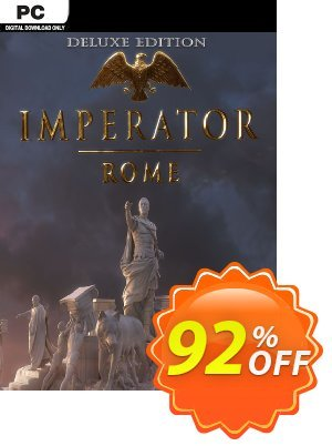 Imperator Rome Deluxe Edition PC + DLC Coupon, discount Imperator Rome Deluxe Edition PC + DLC Deal. Promotion: Imperator Rome Deluxe Edition PC + DLC Exclusive offer for iVoicesoft