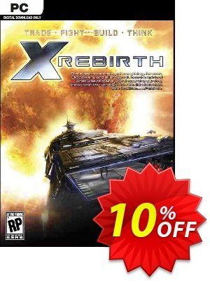 X Rebirth PC Coupon, discount X Rebirth PC Deal. Promotion: X Rebirth PC Exclusive offer for iVoicesoft