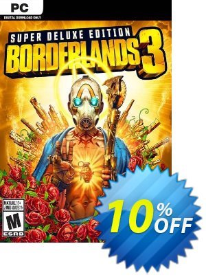 Borderlands 3 Super Deluxe Edition PC + DLC (US/AUS/JP) 優惠券,折扣碼 Borderlands 3 Super Deluxe Edition PC + DLC (US/AUS/JP) Deal,促銷代碼: Borderlands 3 Super Deluxe Edition PC + DLC (US/AUS/JP) Exclusive offer for iVoicesoft