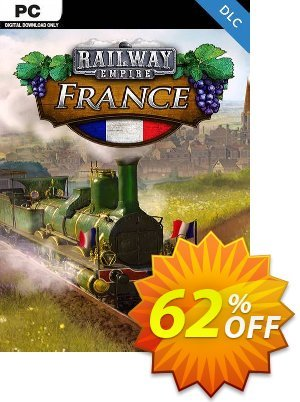Railway Empire PC - France DLC 優惠券,折扣碼 Railway Empire PC - France DLC Deal,促銷代碼: Railway Empire PC - France DLC Exclusive offer for iVoicesoft