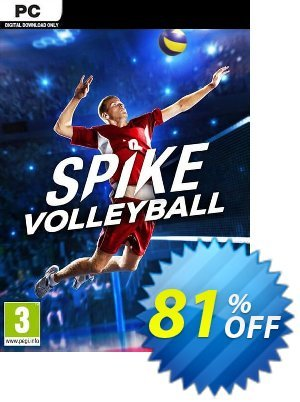 Spike Volleyball PC 프로모션 코드 Spike Volleyball PC Deal 프로모션: Spike Volleyball PC Exclusive offer for iVoicesoft