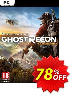Tom Clancy's Ghost Recon Wildlands PC Coupon discount Tom Clancy's Ghost Recon Wildlands PC Deal