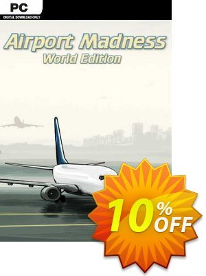 Airport Madness World Edition PC 프로모션 코드 Airport Madness World Edition PC Deal 프로모션: Airport Madness World Edition PC Exclusive offer for iVoicesoft