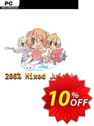 200% Mixed Juice! PC discount coupon 200% Mixed Juice! PC Deal - 200% Mixed Juice! PC Exclusive offer for iVoicesoft
