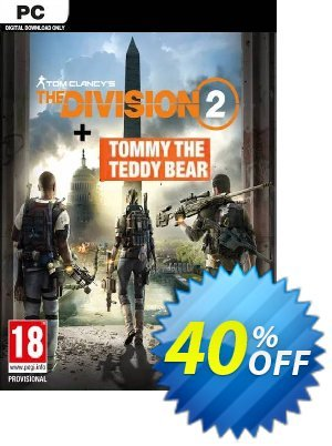 Tom Clancy's The Division 2 PC Inc. Teddy Bear DLC 優惠券,折扣碼 Tom Clancy's The Division 2 PC Inc. Teddy Bear DLC Deal,促銷代碼: Tom Clancy's The Division 2 PC Inc. Teddy Bear DLC Exclusive offer for iVoicesoft