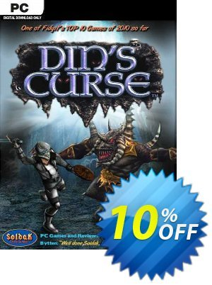 Din's Curse PC 프로모션 코드 Din's Curse PC Deal 프로모션: Din's Curse PC Exclusive offer for iVoicesoft
