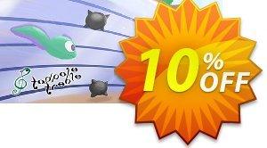 Tadpole Treble PC 프로모션 코드 Tadpole Treble PC Deal 프로모션: Tadpole Treble PC Exclusive offer for iVoicesoft