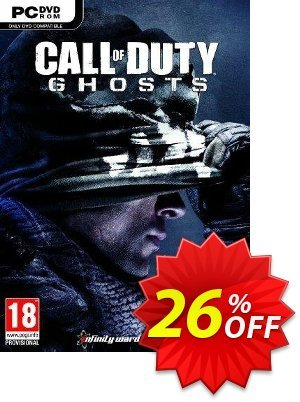 Call of Duty (COD): Ghosts PC Coupon, discount Call of Duty (COD): Ghosts PC Deal. Promotion: Call of Duty (COD): Ghosts PC Exclusive offer for iVoicesoft