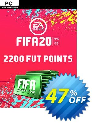 FIFA 20 Ultimate Team - 2200 FIFA Points PC 프로모션 코드 FIFA 20 Ultimate Team - 2200 FIFA Points PC Deal 프로모션: FIFA 20 Ultimate Team - 2200 FIFA Points PC Exclusive offer for iVoicesoft