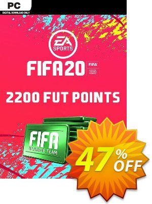 FIFA 20 Ultimate Team - 2200 FIFA Points PC discount coupon FIFA 20 Ultimate Team - 2200 FIFA Points PC Deal - FIFA 20 Ultimate Team - 2200 FIFA Points PC Exclusive offer for iVoicesoft