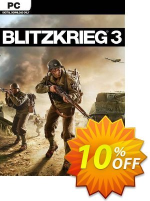 Blitzkrieg 3 PC 프로모션 코드 Blitzkrieg 3 PC Deal 프로모션: Blitzkrieg 3 PC Exclusive offer for iVoicesoft