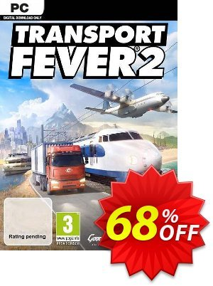 Transport Fever 2 PC discount coupon Transport Fever 2 PC Deal - Transport Fever 2 PC Exclusive offer for iVoicesoft