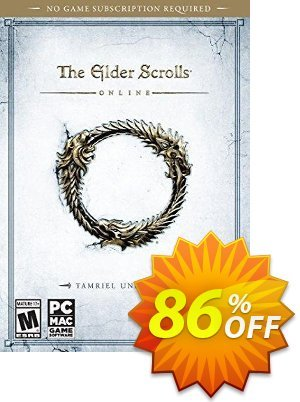 Elder Scrolls Online: Tamriel Unlimited PC/Mac Coupon, discount Elder Scrolls Online: Tamriel Unlimited PC/Mac Deal. Promotion: Elder Scrolls Online: Tamriel Unlimited PC/Mac Exclusive offer for iVoicesoft
