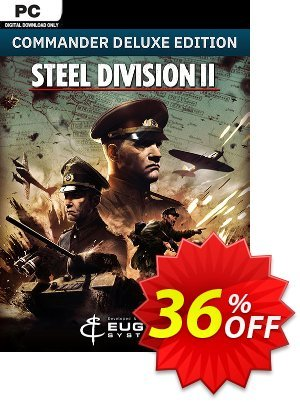 Steel Division 2 - Commander Deluxe Edition PC discount coupon Steel Division 2 - Commander Deluxe Edition PC Deal - Steel Division 2 - Commander Deluxe Edition PC Exclusive offer for iVoicesoft