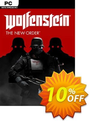 Wolfenstein: The New Order PC割引コード・Wolfenstein: The New Order PC Deal キャンペーン:Wolfenstein: The New Order PC Exclusive offer for iVoicesoft